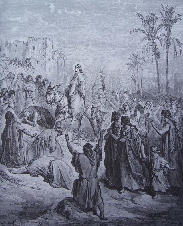 Entrada de Jesus a Jerusalen